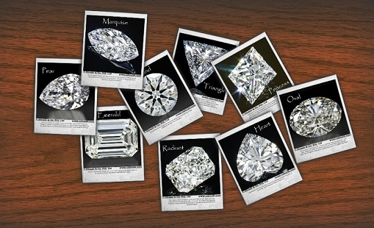 C.DINESH & CO. PVT. LTD. loose diamonds shapes